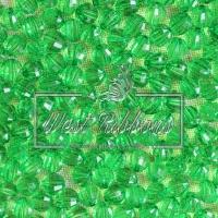 Хрусталька 8 мм , зеленая