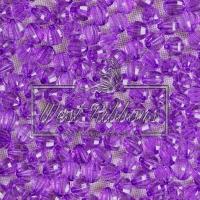 Хрусталька 8 мм , темно-фиолетовая