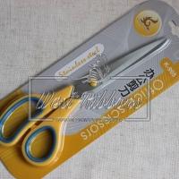 Ножницы для лент K 805, желто-голубые