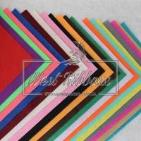 Фетр в наборах 1 мм  Микс (20 листов)
