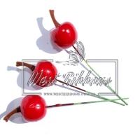Яблочко на проволочке , МАЛЕНЬКОЕ- красное