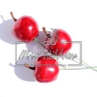 Яблочко на проволочке , БОЛЬШОЕ- красное