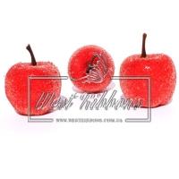 Яблочко в сахаре , красное