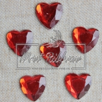 С-ка сердце  плоское -красное