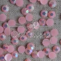 Стразы перламутровые 7 мм, св. розовые