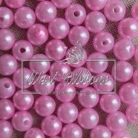 Жемчуг 8 мм, розовый (20 шт)