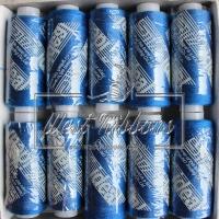 Нитки № 40 средне-синие