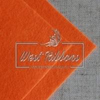 Фетр 1 мм , оранжевый