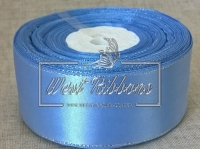 Люрекс 4 см , голубой