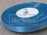 Люрекс 0.9 см , голубой с золотом