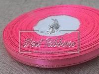 Люрекс 0.6 см , ярко-розовый с золотом
