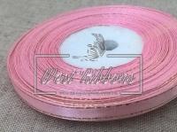 Люрекс 0.6 см , светло-розовый из серебром