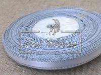 Люрекс 0.6 см , белый с серебром