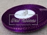 Люрекс 0.6 см , темно-фиолетовый с золотом