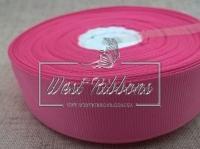 Репс  2.5 см , грязно ярко-розовый РУЛОН