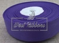Репс 2,5см, средне - фиолетовый РУЛОН