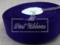 Репс 2,5 см, темно-фиолетовый РУЛОН