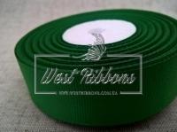 Репс 2,5 см, зелёный РУЛОН