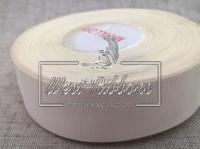 Репс 2.5 см, молочный РУЛОН