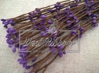 Веточка с тычинками 40 см , средне-фиолетовая -10 шт.