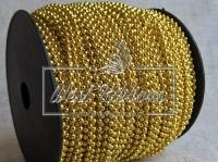 Жемчуг на нитке 2.5 мм New Year, золото