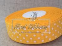 Репс в Горох 2 .5 см, темно-желтый 016