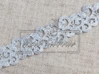Ажур-дорожка 2 см , серебро