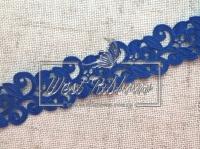 Ажур-дорожка 2 см, темно-синяя МОТОК