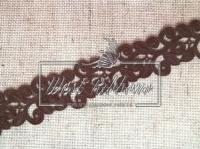 Ажур-дорожка 2 см , коричневая