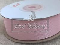 Атлас в ромбик 2.5 см, розовый