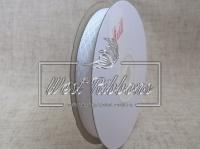 Атлас в ромбик 1 см, белый  РУЛОН