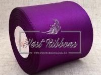 Атлас  8 см темно-фиолетовый