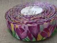 Репс 2.5 см цветок Крокус фиолетовый
