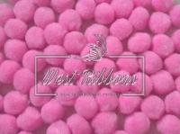 Помпоны 2 см, розовые