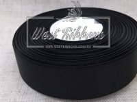Репс 2.5 см, черный