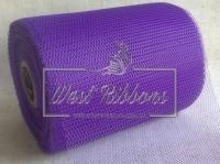Вуаль -сетка , темно-фиолетовая