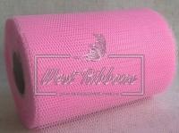 Вуаль -сетка , светло-розовая