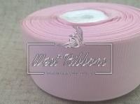 Репс  2.5 см , бледно-розовый РУЛОН